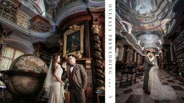 【世界最美的圖書館】| Prague Pre-wedding | 布拉格婚紗攝影