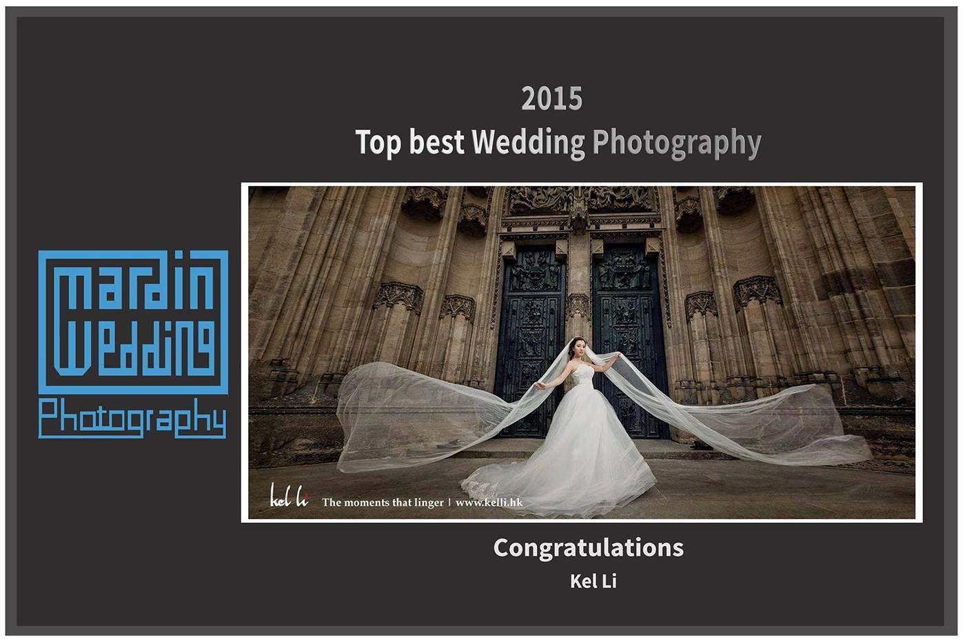 剛收到2015 Best Wedding Photography獎項
