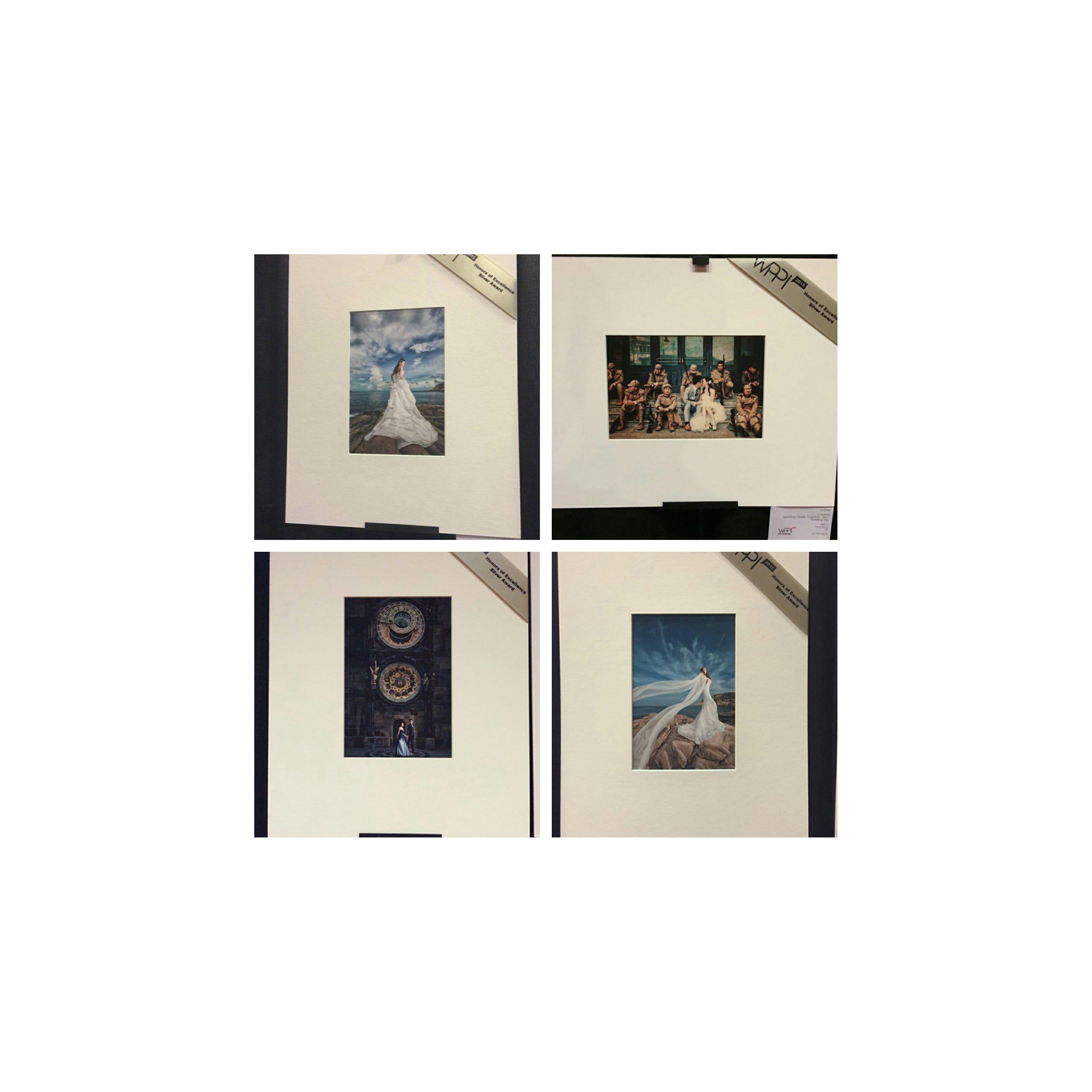我們在美國WPPI一年一度的Print Competition中有6張作品獲獎