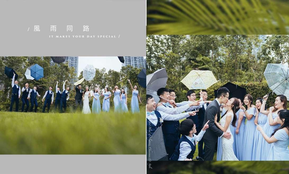 【萬一婚禮個日落雨點算呀?】| Big Day Photography | 香港婚禮攝影