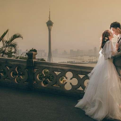 【在日落下優雅繾綣】| 澳門婚禮攝影 |  Macau Prewedding