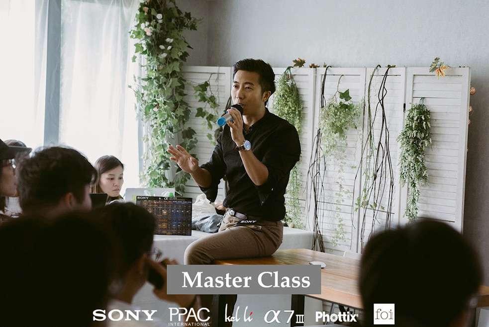 SONY x PPAC x KEL LI – MASTER CLASS 當天教學作品及花絮