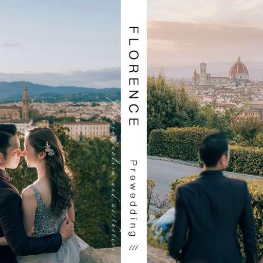 【這天在佛羅倫斯的陽光很燦爛】| Florence Prewedding | 佛羅倫斯婚紗攝影