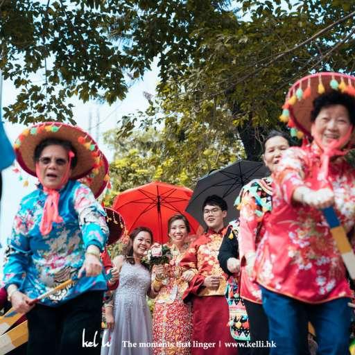 這天水上人家的婚禮,熱鬧又感動 | Big Day Photography  | 香港婚禮攝影