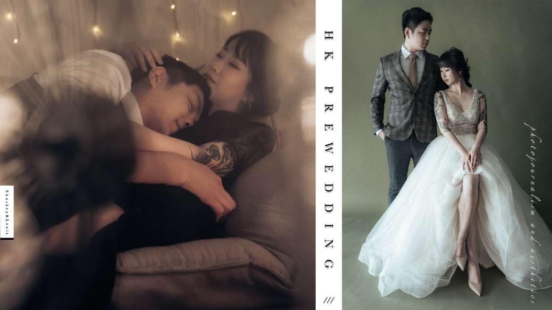 【Vintage Studio PreWedding】 | 室內復古婚紗攝影