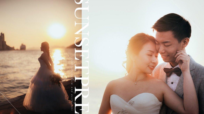 【捕捉妳的光影】| Sunset Prewedding Photography | 夕陽婚紗攝影