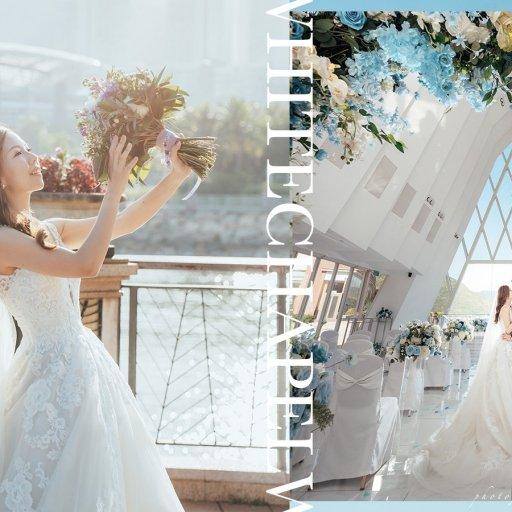 【白日夢】| White Chapel Wedding Photography | 海濱白教堂婚禮攝影