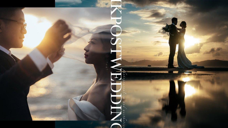 【香港的天空之鏡】| HK POSTWEDDING | 西環碼頭婚紗攝影