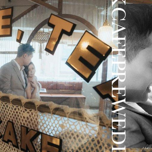 【我們的愛.回到昭和時代】| HK Cafe Prewedding | 香港咖啡店婚紗攝影