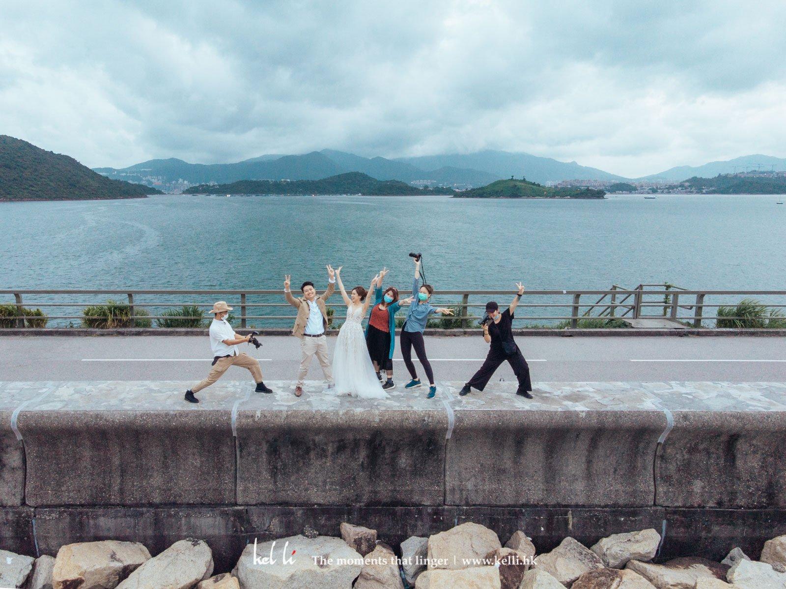 婚紗攝影下半場完結,一齊比yeah!