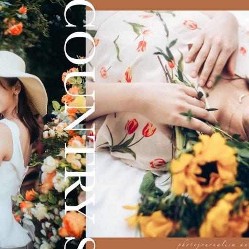 【田園花家姐】| Agnes 家姐 | Country Styled Prewedding | 香港田園風婚紗攝影