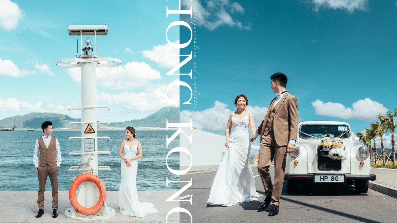 【A Whole New World】 沖繩還是加洲?香港打卡點!浩和街婚禮攝影