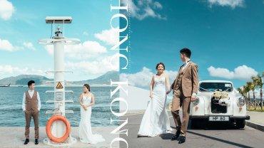 【A Whole New World】|沖繩還是加洲?香港打卡點!浩和街婚禮攝影