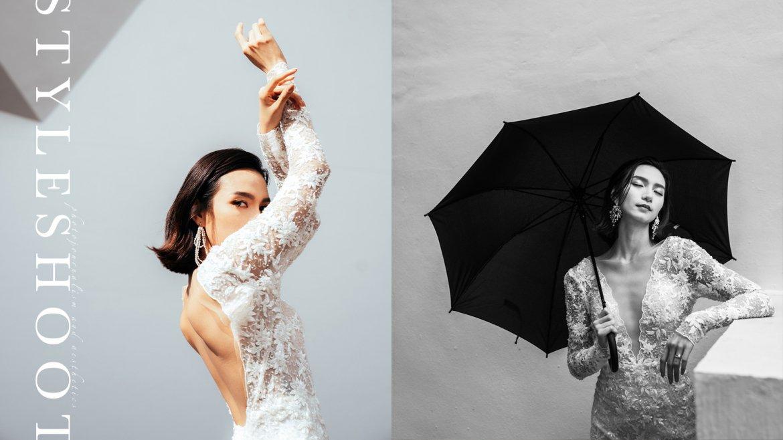 Model上陣為妳完美演繹2022年婚紗趨勢|Kel Li x Koody Pixel